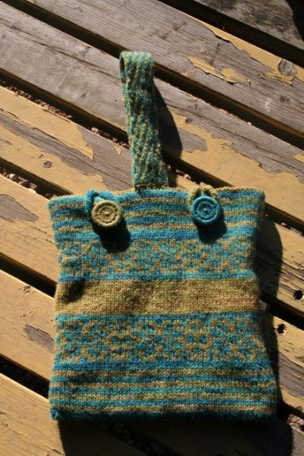 Ringmoor Bag, Knitting Pattern